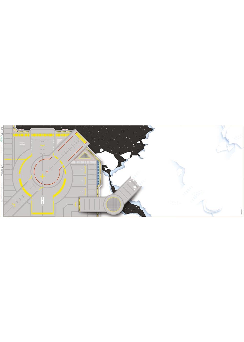Ikea Kallax Regal Weltraum 2fach Druckvorlage
