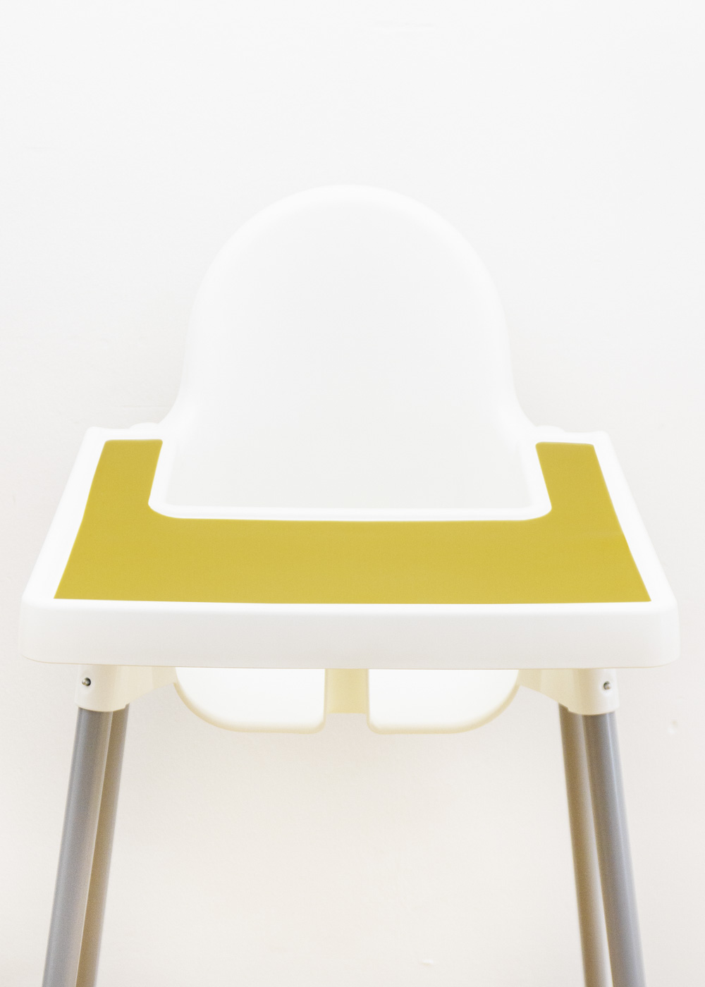 Silikonmatte Ikea Antilop Hochstuhl Klecka Mat senf