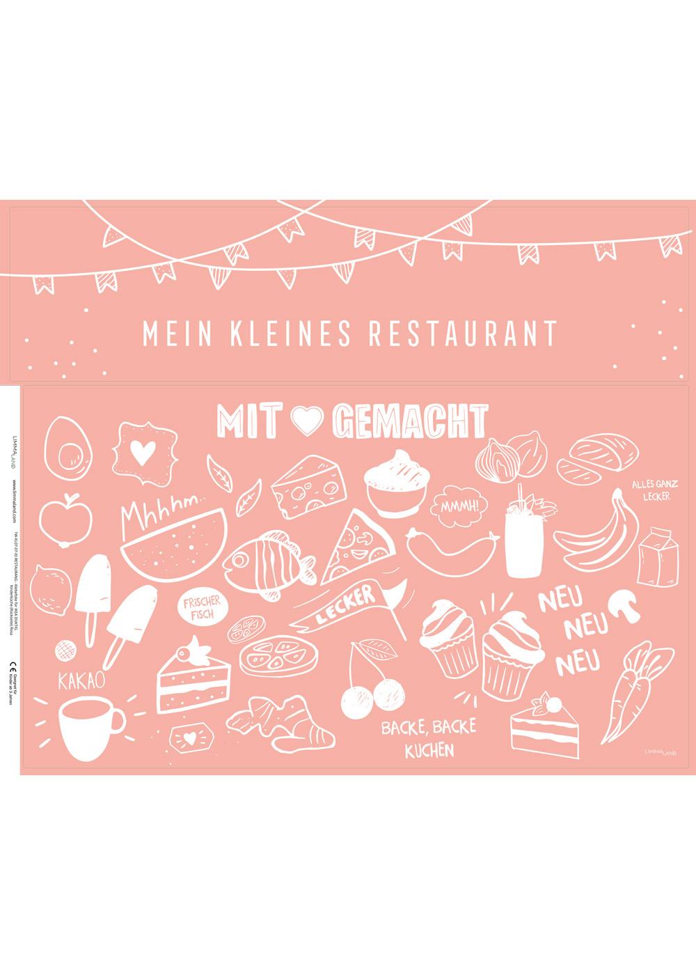 klebefolie ikea kaufladen duktig kinderkueche restaurang rosa 3