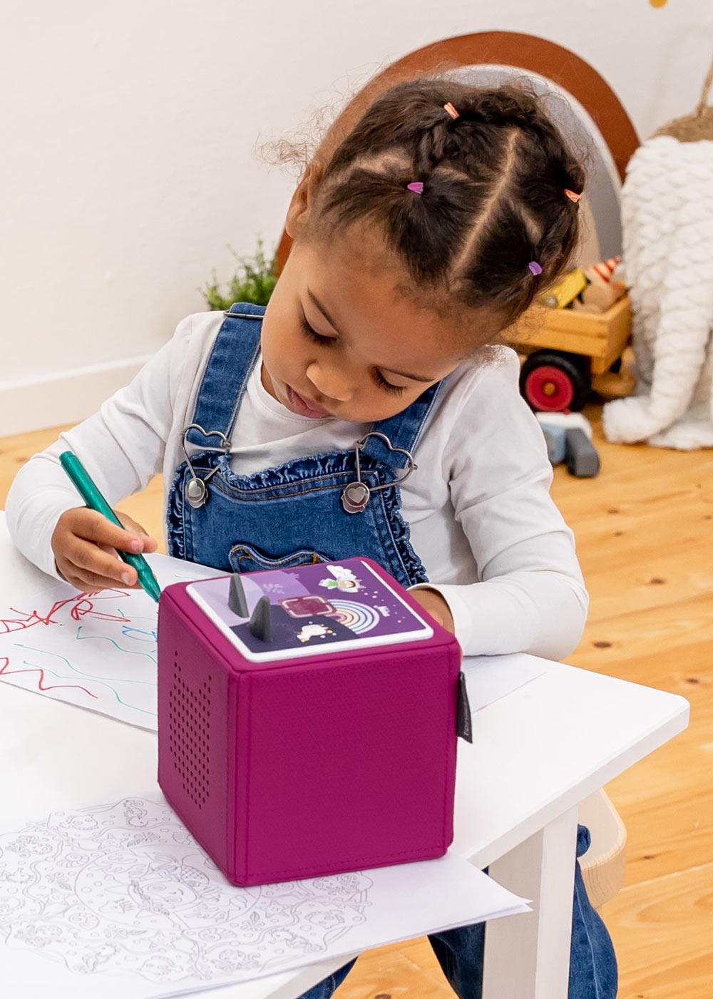dekofolie toniebox regenbogen personalisiert kindername 4