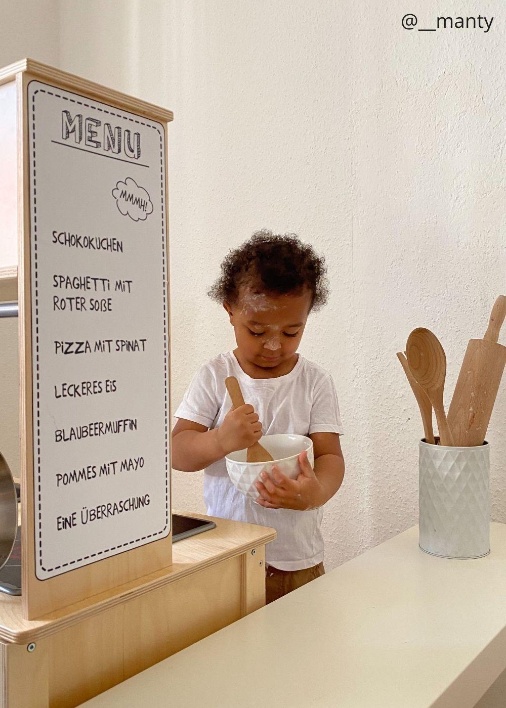 Kinderzimmer Klebefolie Spielküche