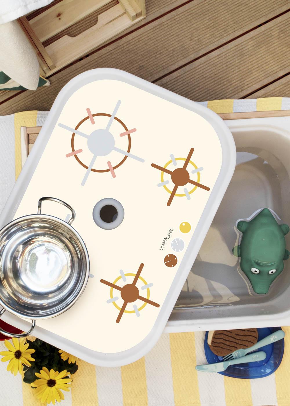 Ikea Trofast Box Kinderherd Erdig sand