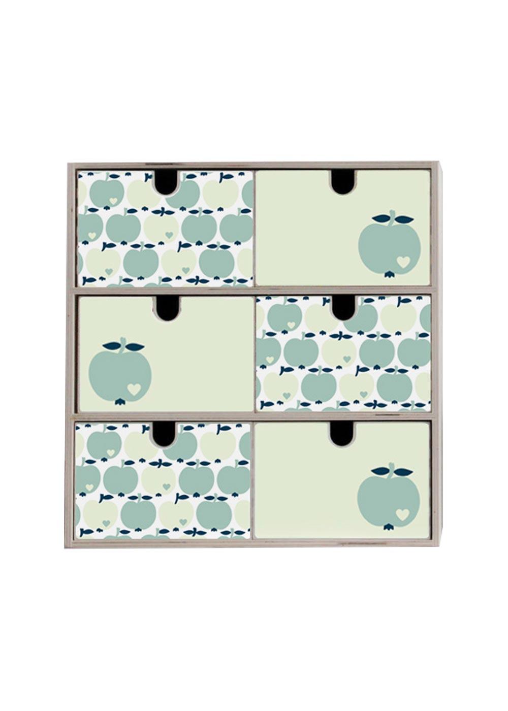 Klebefolie Mini Moppe IKEA By Graziela Apfel mint Komplettansicht