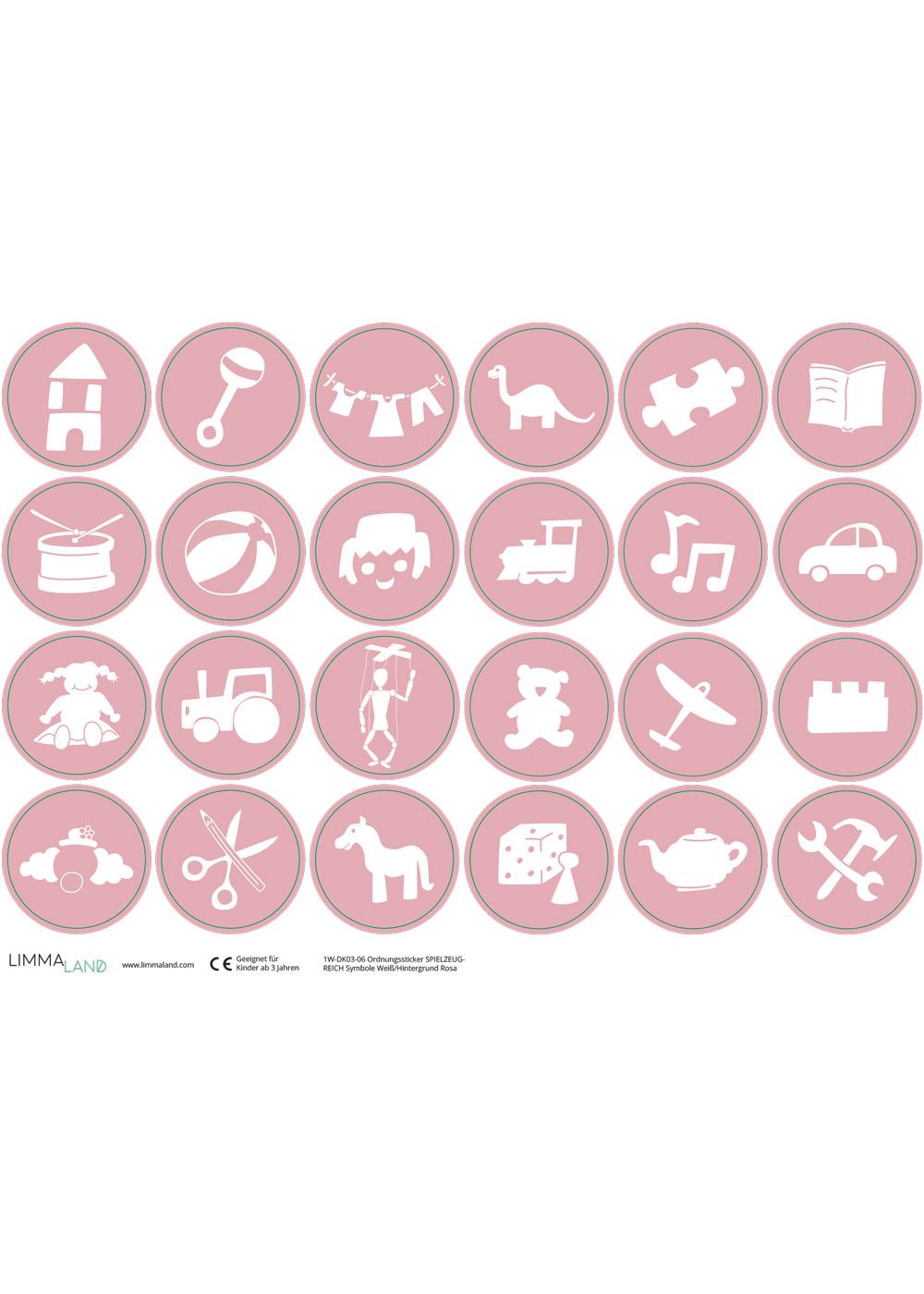 Ikea Trofast Spielzeug rosa Druckvorlage