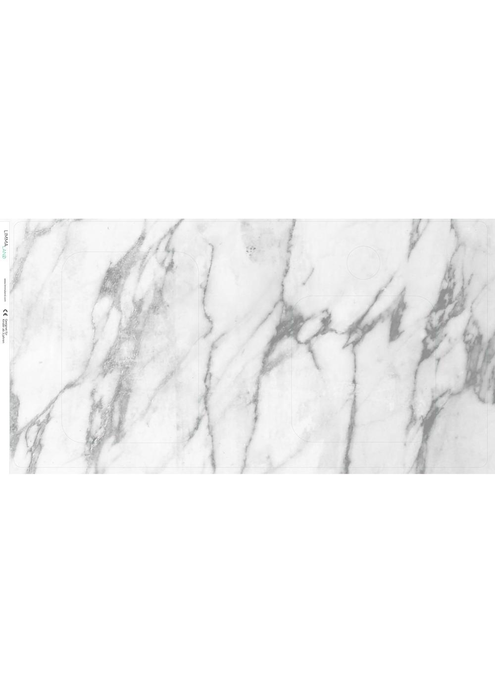 klebefolie ikea duktig kinderkueche marmor weiss 3