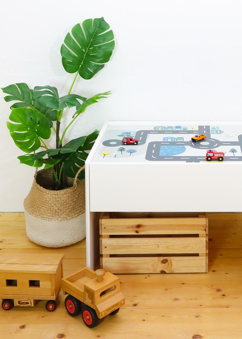 Ikea Dundra Spieltisch Smastraat Teilansicht