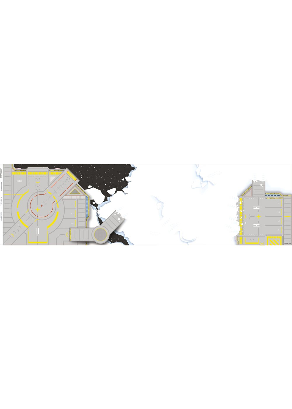 Ikea Kallax Regal Weltraum 4fach Druckvorlage