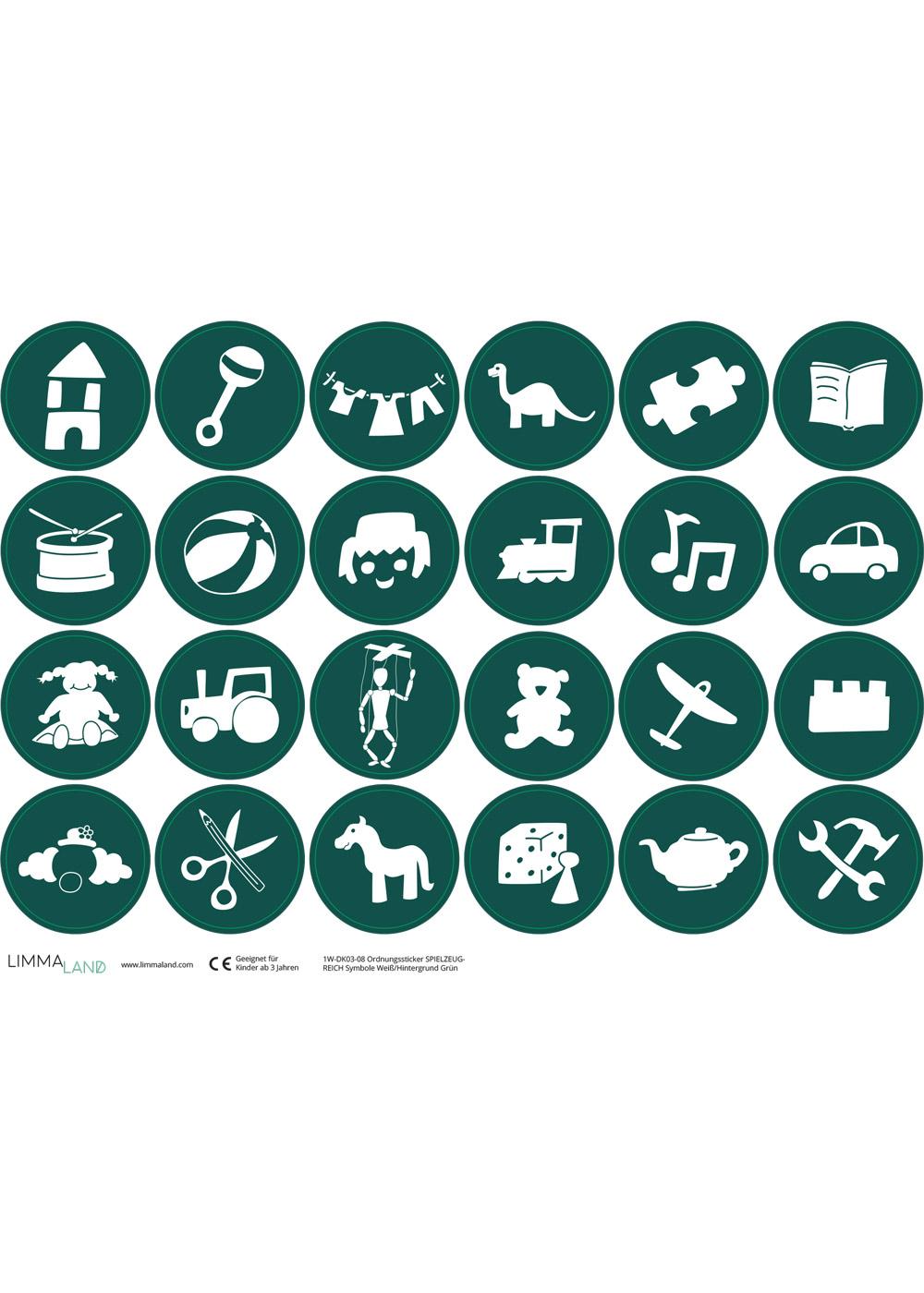 Ikea Trofast Spielzeug waldgrün Druckvorlage