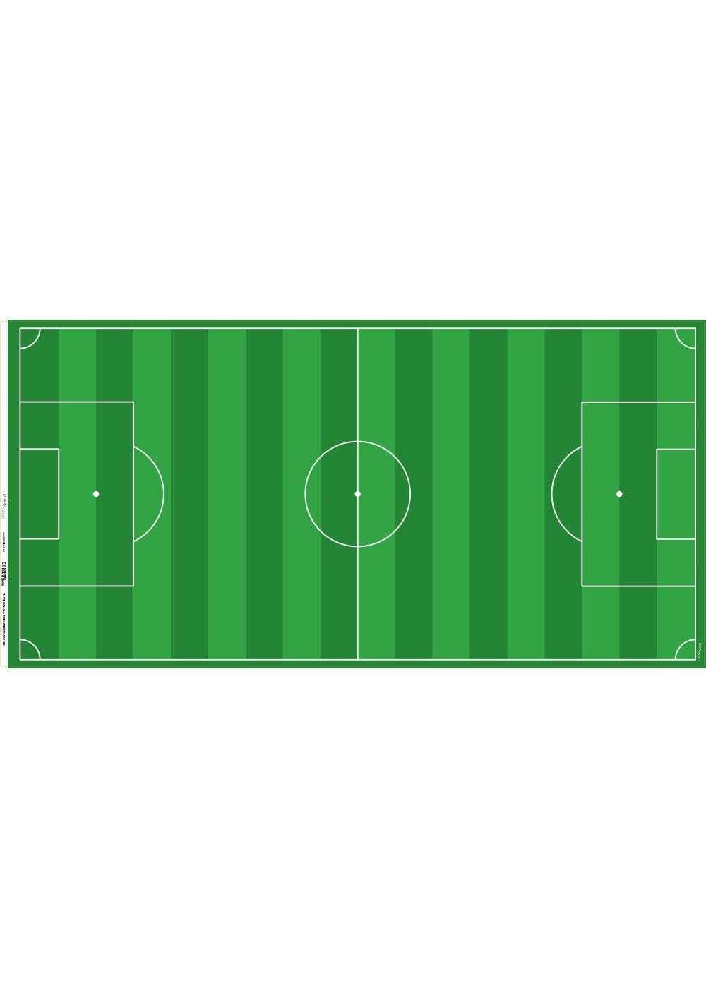 Ikea Dundra Spieltisch Fussballfeld gün Druckvorlage