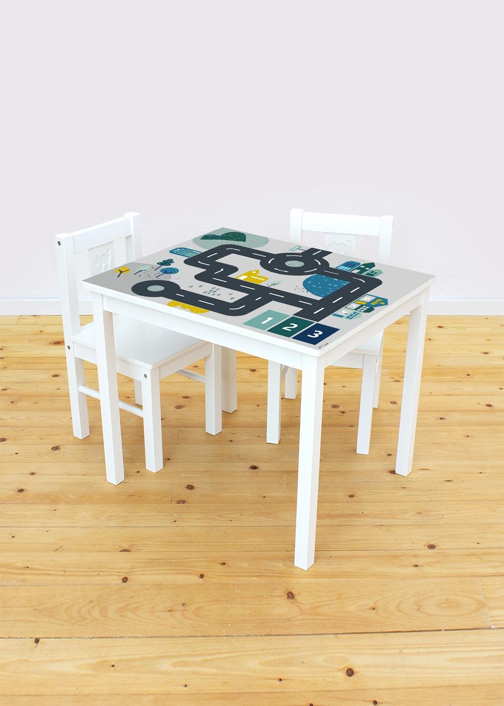 Ikea Kritter Kindertisch Smastraat Komplettansicht