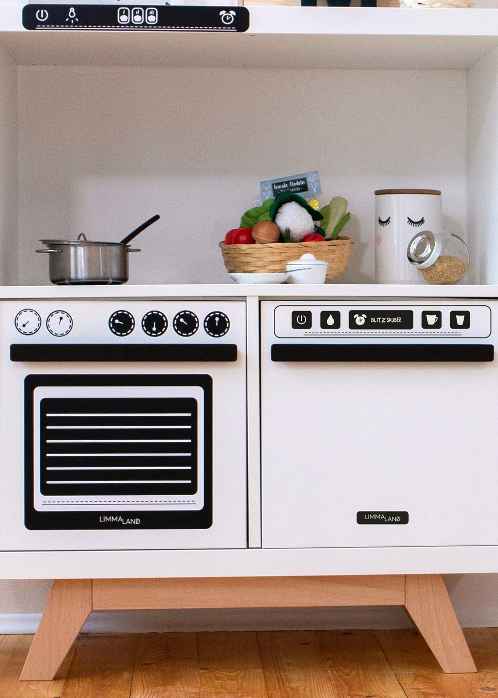 Kinderküche DIY Kökbastla Teilansicht
