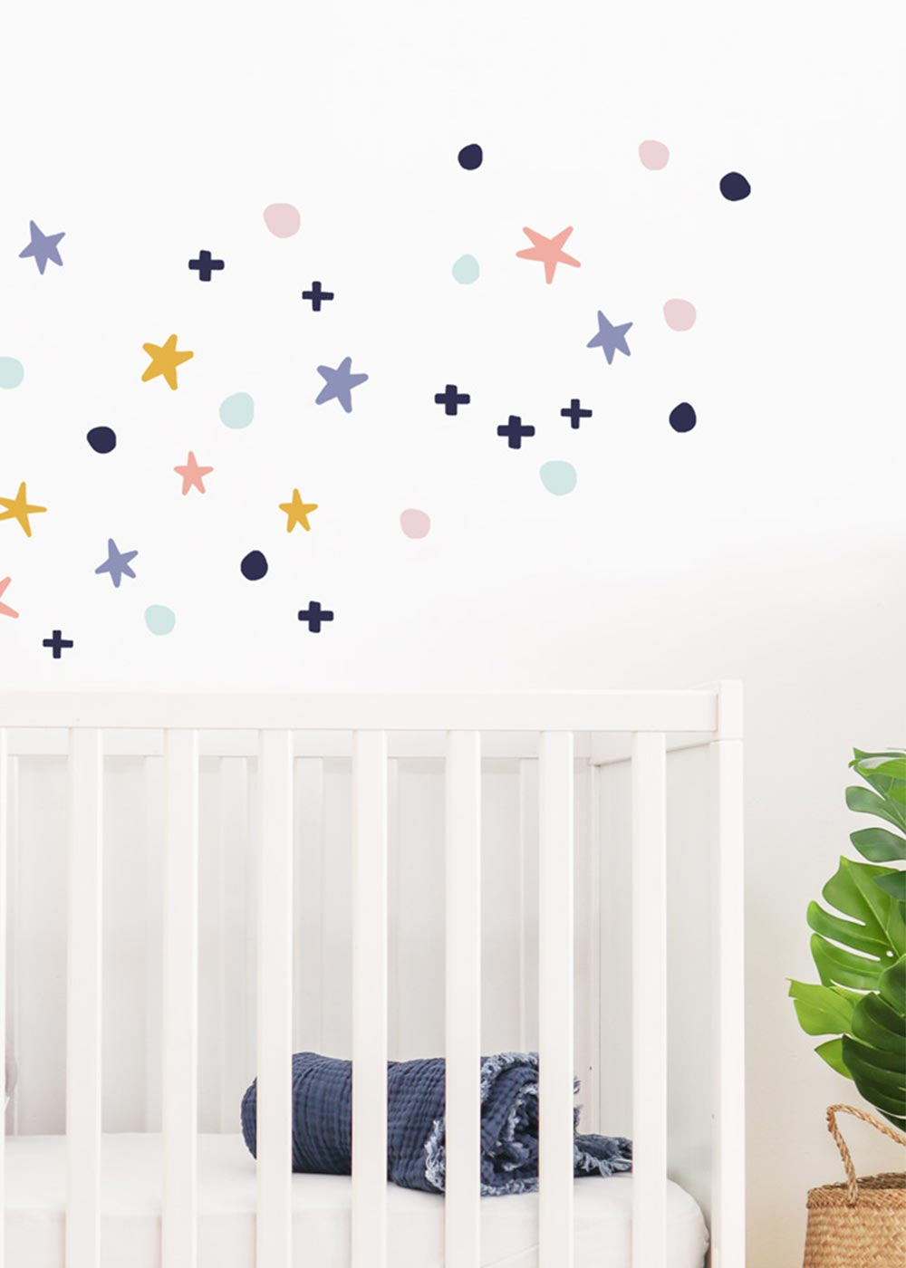 Stickerset Wand Möbel Sterne Unendlig