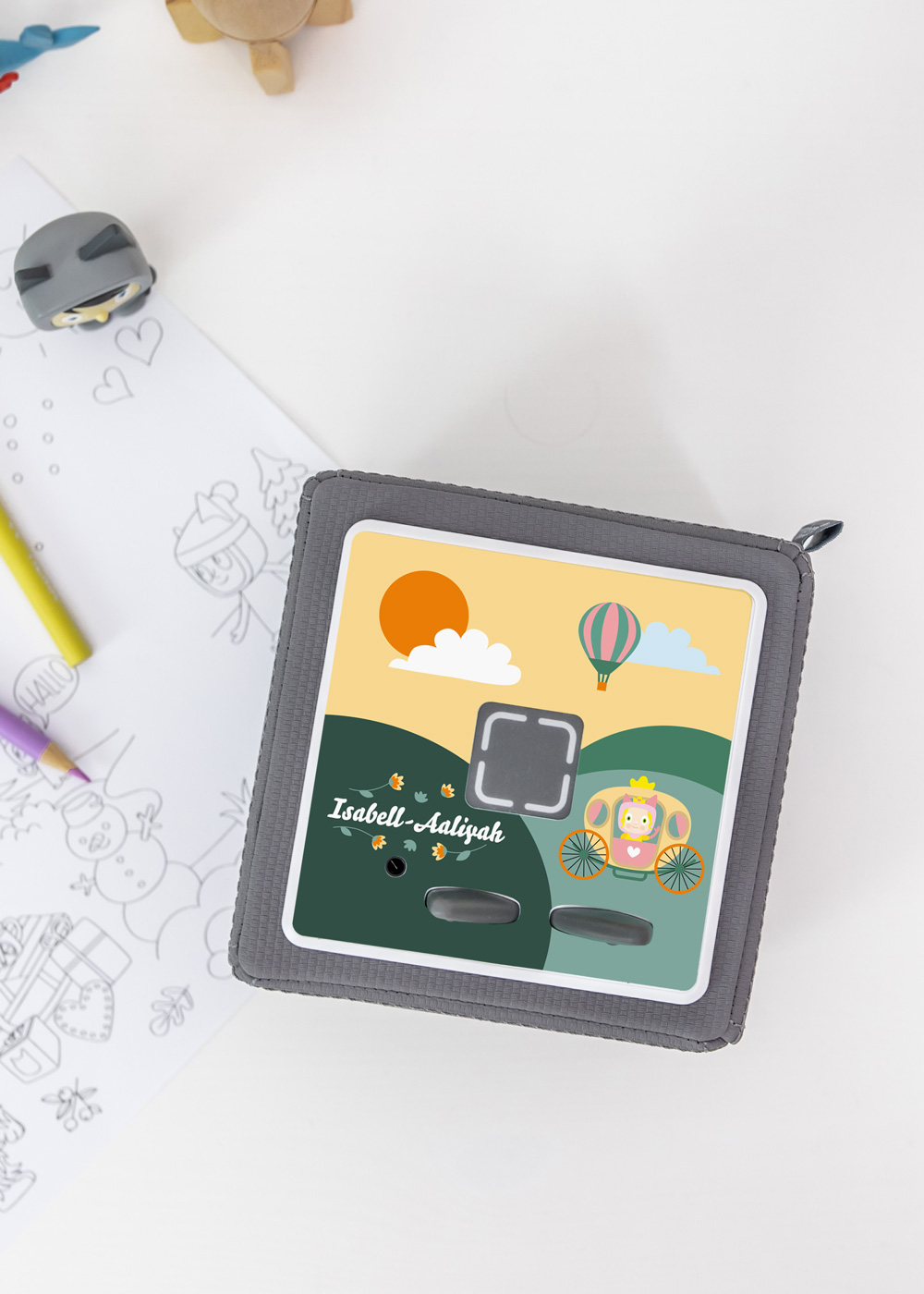 dekofolie toniebox zauberfahrt personalisiert kindername 2