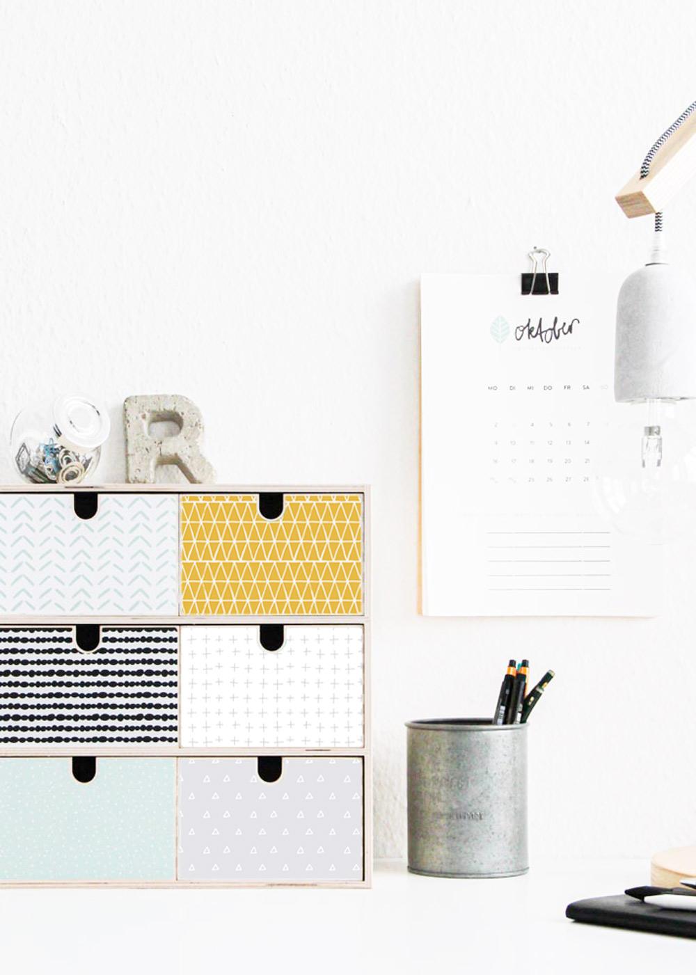 Ikea Moppe Mini Kommode Musta Senf Mint 31x18x32 Gesamt Schreibtisch