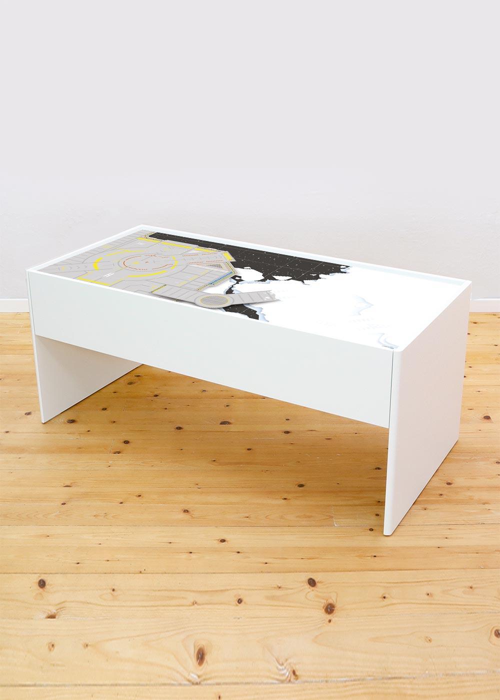 Ikea Dundra Spieltisch Weltraum Komplettansicht