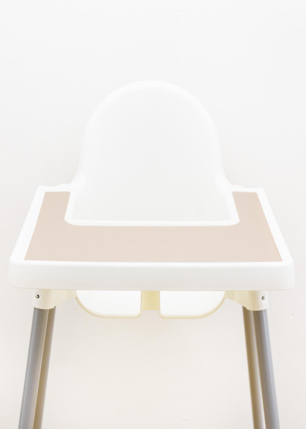 Silikonmatte Ikea Antilop Hochstuhl Klecka Mat creme