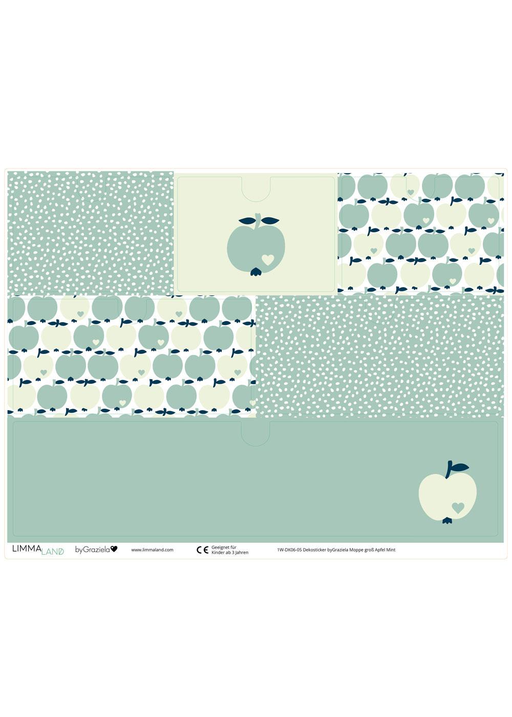 Klebefolie Mini Moppe ByGraziela Apfel