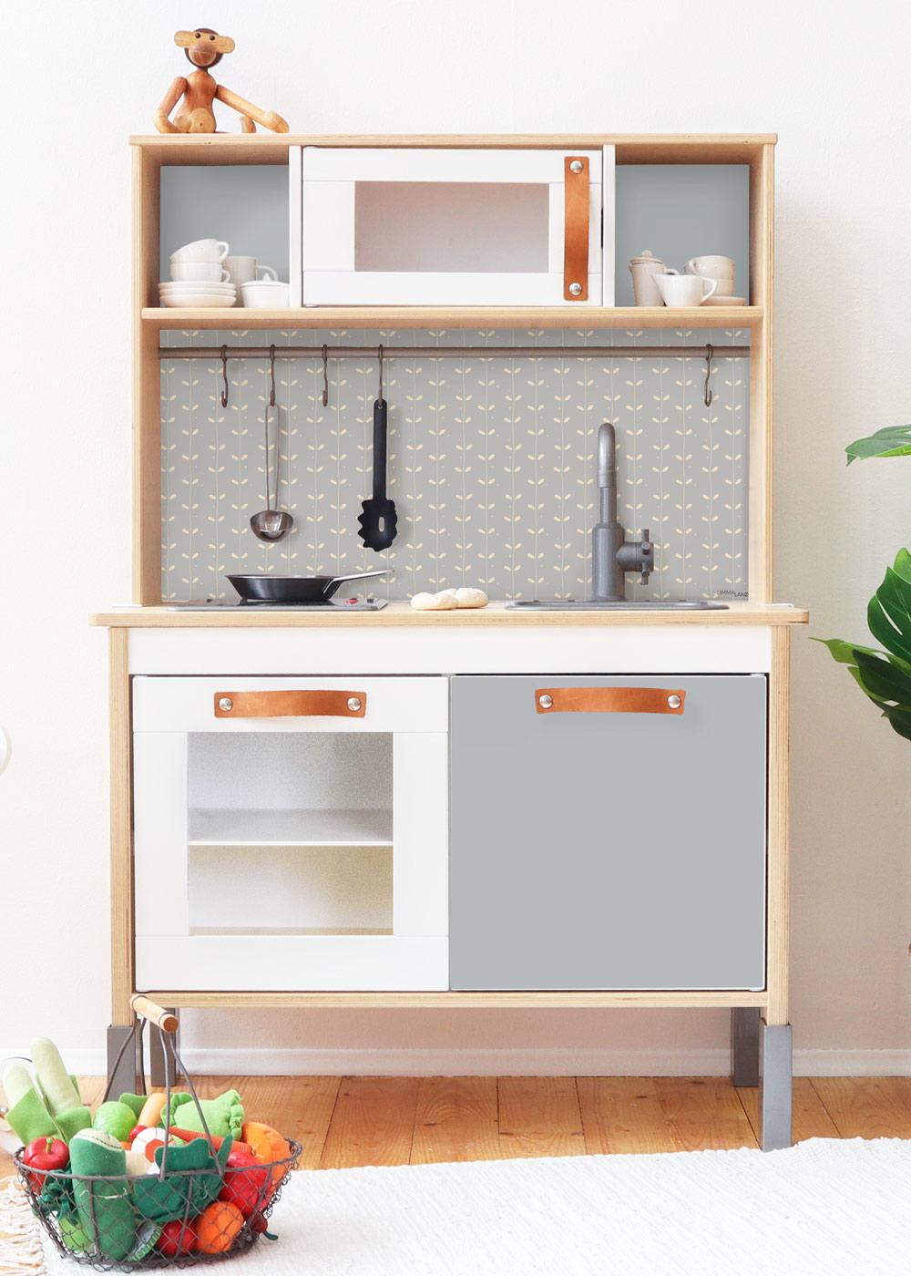 Ikea Duktig Kinderküche Natürlig Nordisch Blau