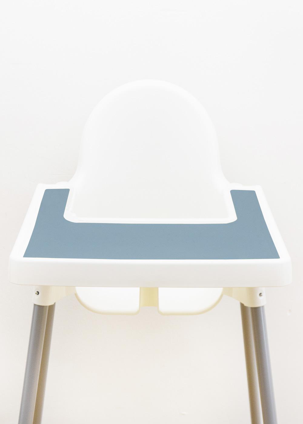 Silikonmatte Ikea Antilop Hochstuhl Klecka Mat nordisch blau