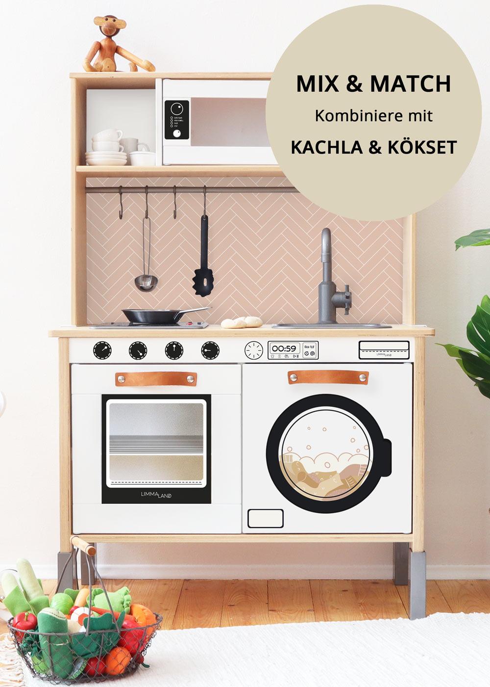 stickerset kinderwaschmaschine saubafix solo 3