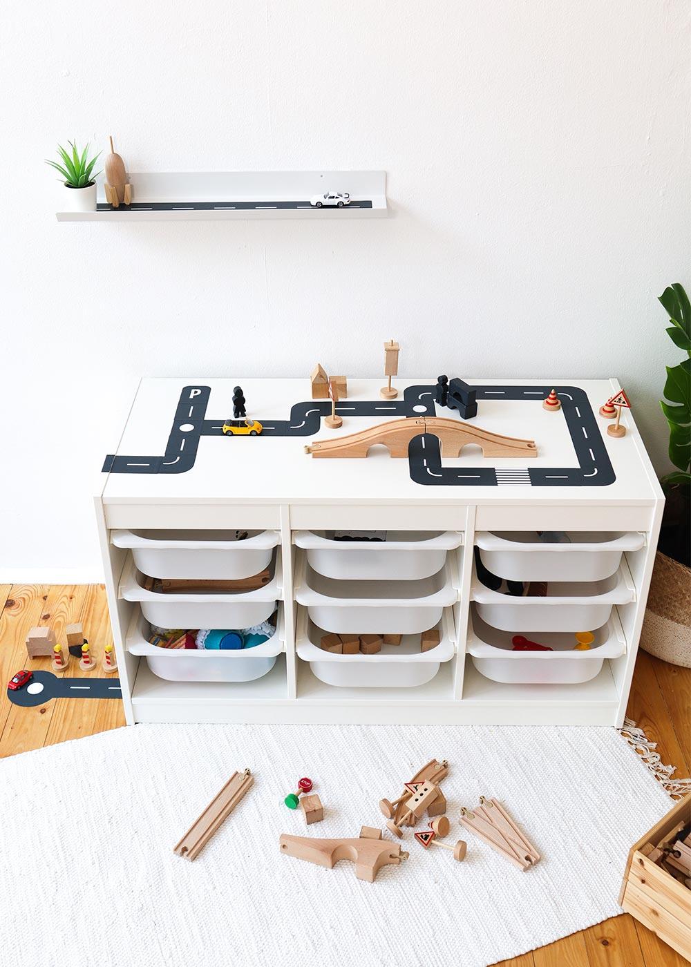 DIY Ikea Spieltisch Smastraat Vollansicht vorne