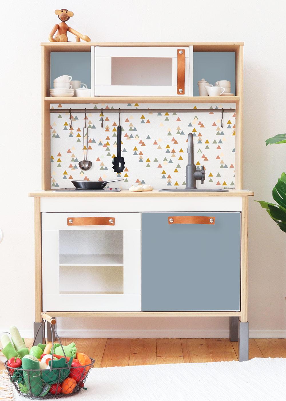 Ikea Duktig Kinderküche Trianglig Nordisch Blau