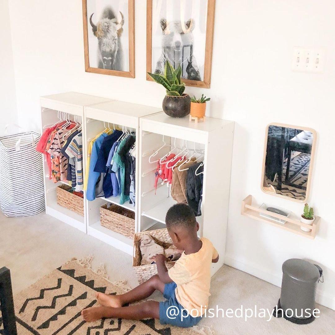 Kinderzimmer Ideen Ankeidebereich