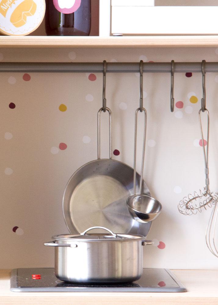 Ikea Duktig Kinderküche Beerig beere Spritzschutz