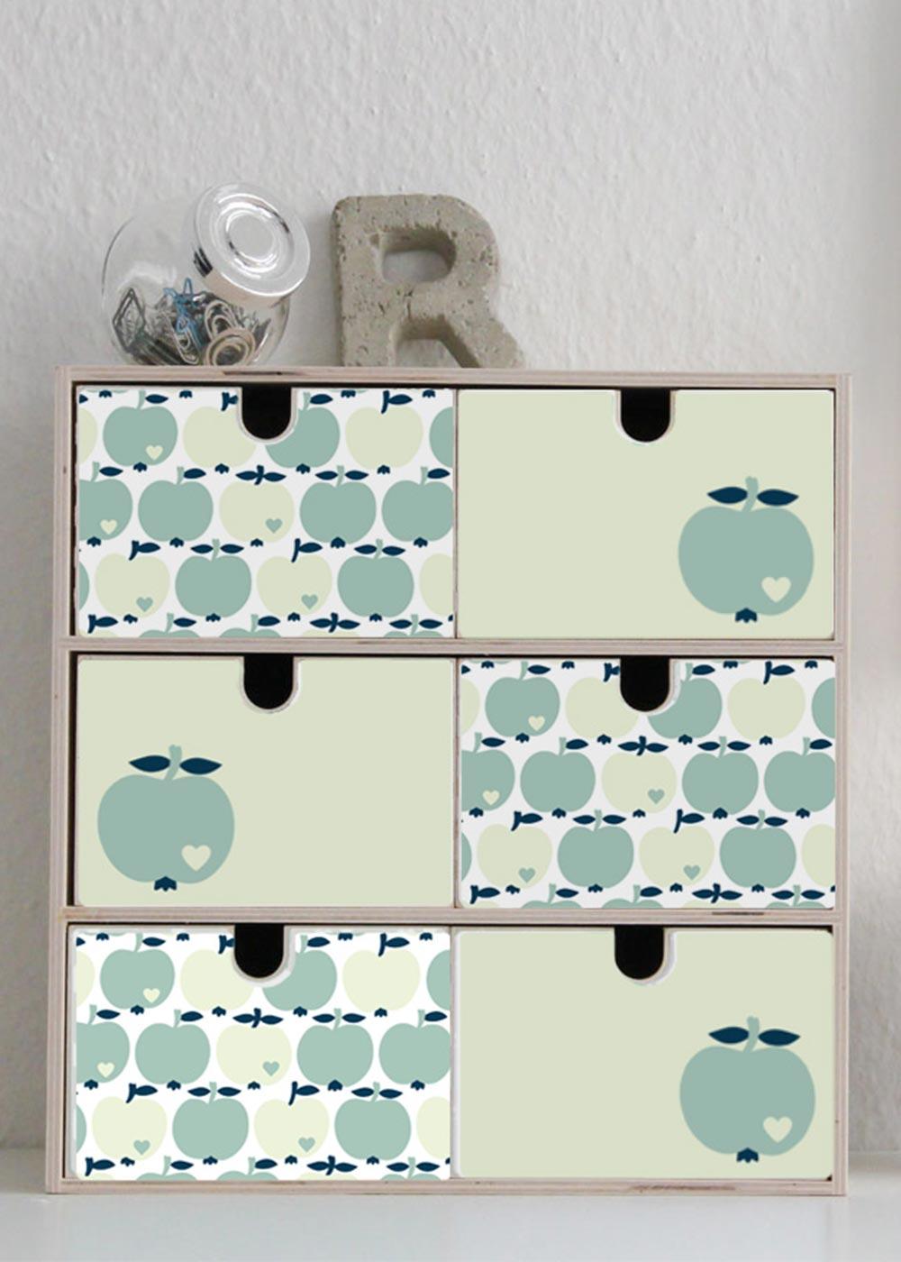 Klebefolie Mini Moppe IKEA By Graziela Apfel mint