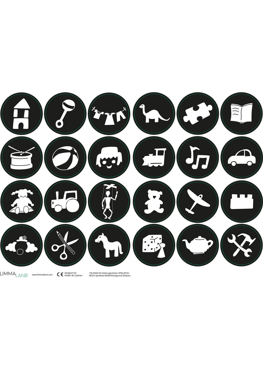 Ikea Trofast Spielzeug schwarz Druckvorlage