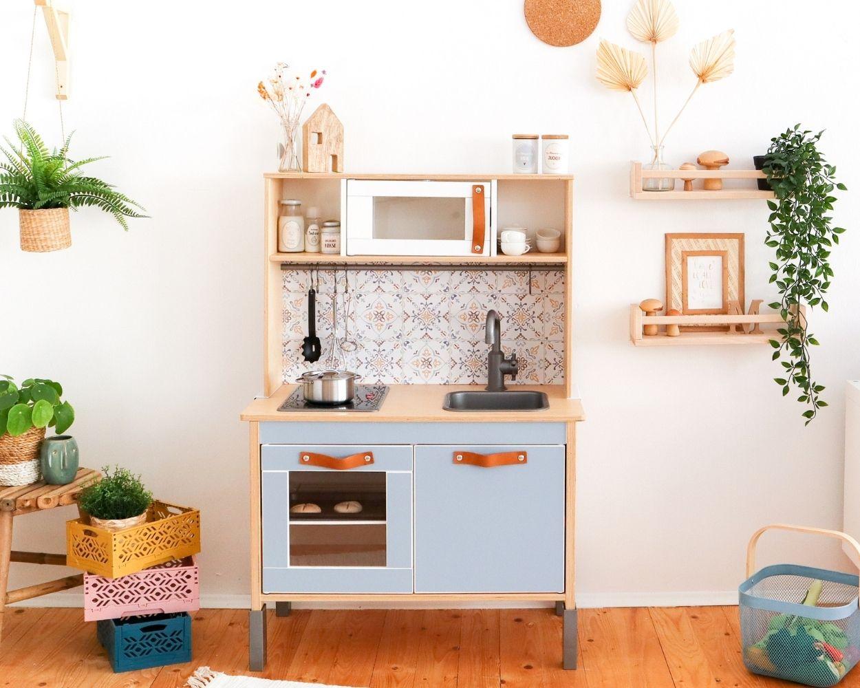 Kinderküche Gestaltungsbeispiel