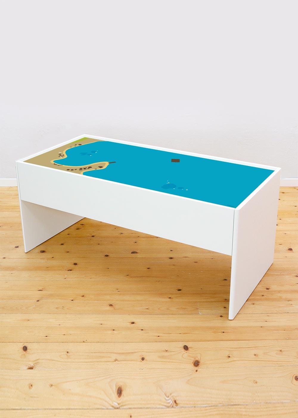 Ikea Dundra Spieltisch Wasserreich Komplettansicht