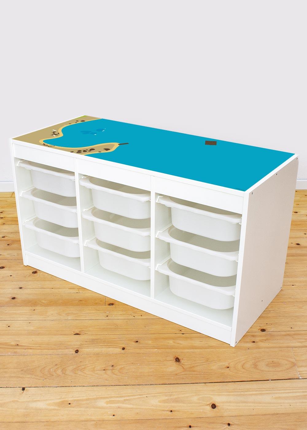 Ikea Trofast Regal Wasserreich