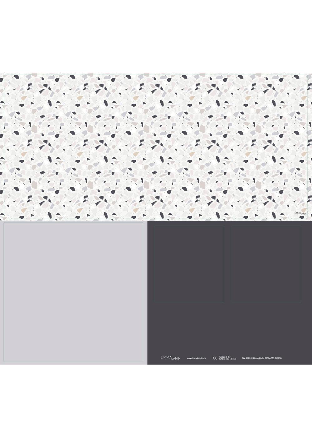 Ikea Duktig Kinderküche Terrazzo Blaugrau Druckvorlage
