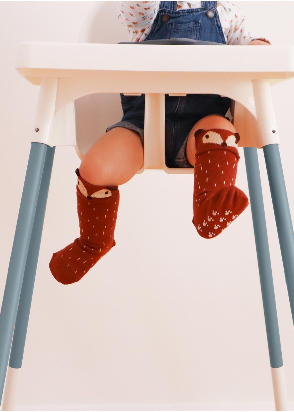 Ikea Antilop Hochstuhl Snygga Fot Nordisch Blau Beine