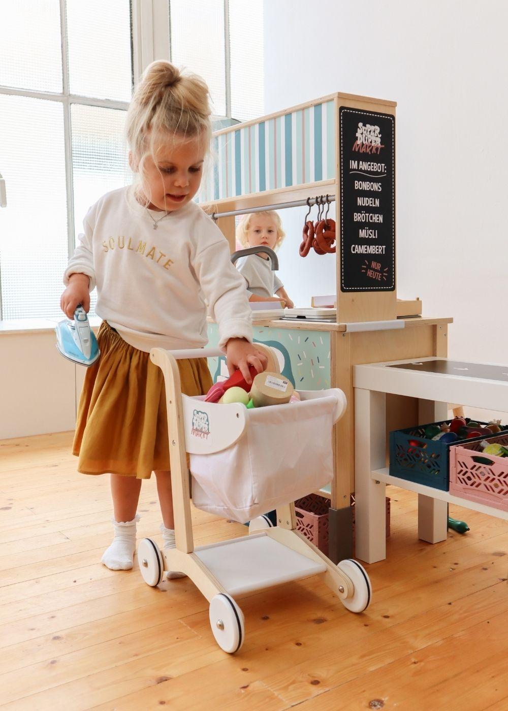 Kinderzimmer Montessori Rollenspiel Kaufladen