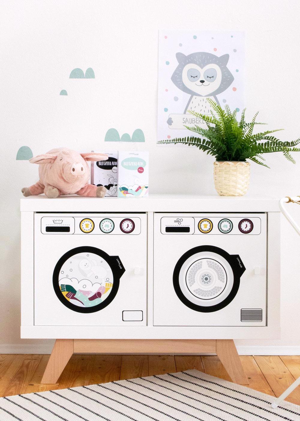 Kinderwaschmaschine Saubafix