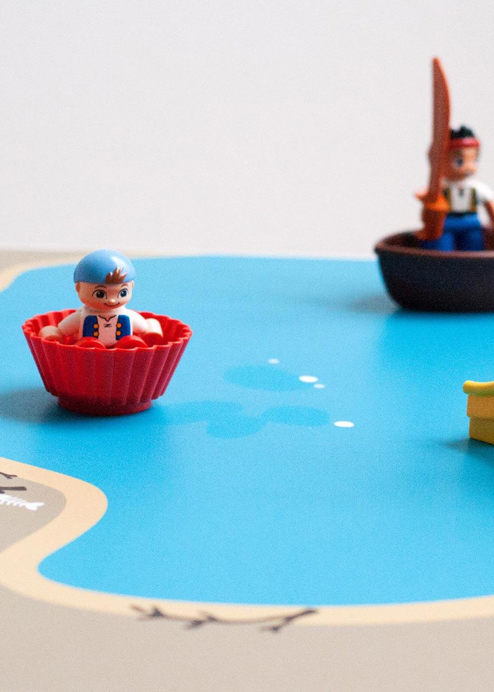 Ikea Kritter Kindertisch Wasserreich Teilansicht Boot