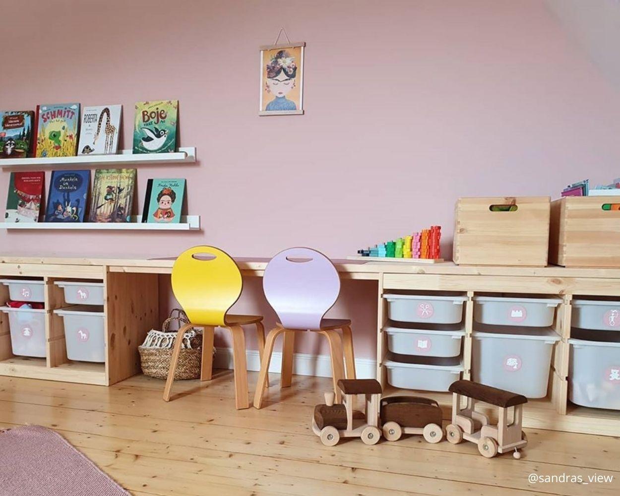 Montessori Kinderzimmer Ikea Trofast