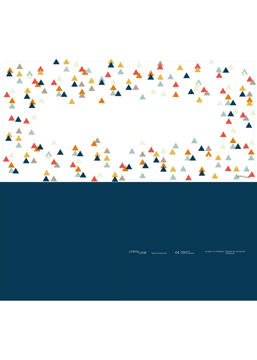 klebefolie ikea duktig kinderkueche trianglig name dunkelblau 3