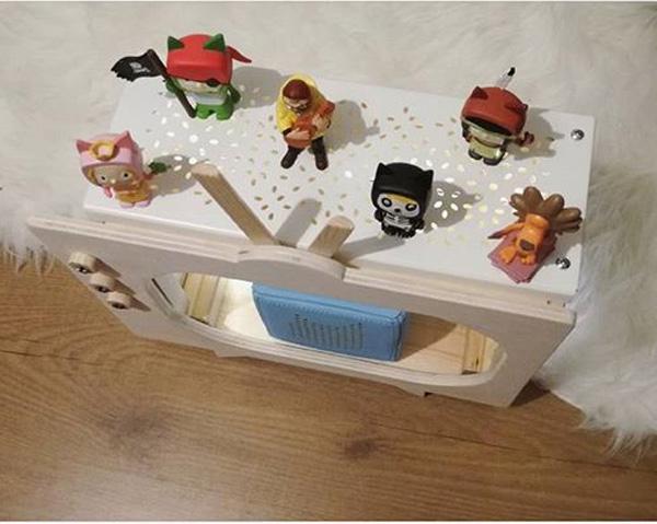 Ikea Tonies mit Regaleinsatz