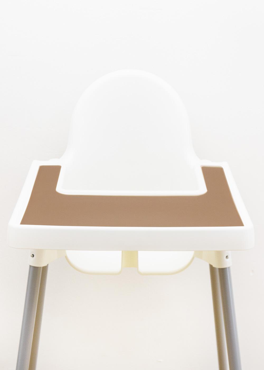 Silikonmatte Ikea Antilop Hochstuhl Klecka Mat terrakotta
