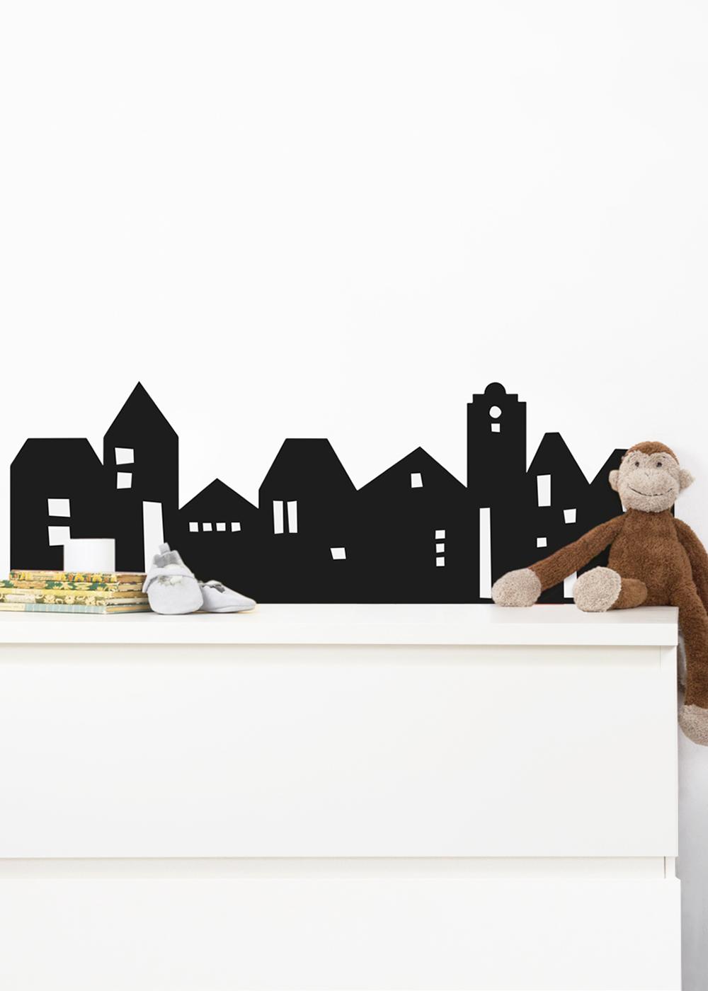 Ikea Mansarp Bilderleiste Lille Hus schwarz Gesamtansicht