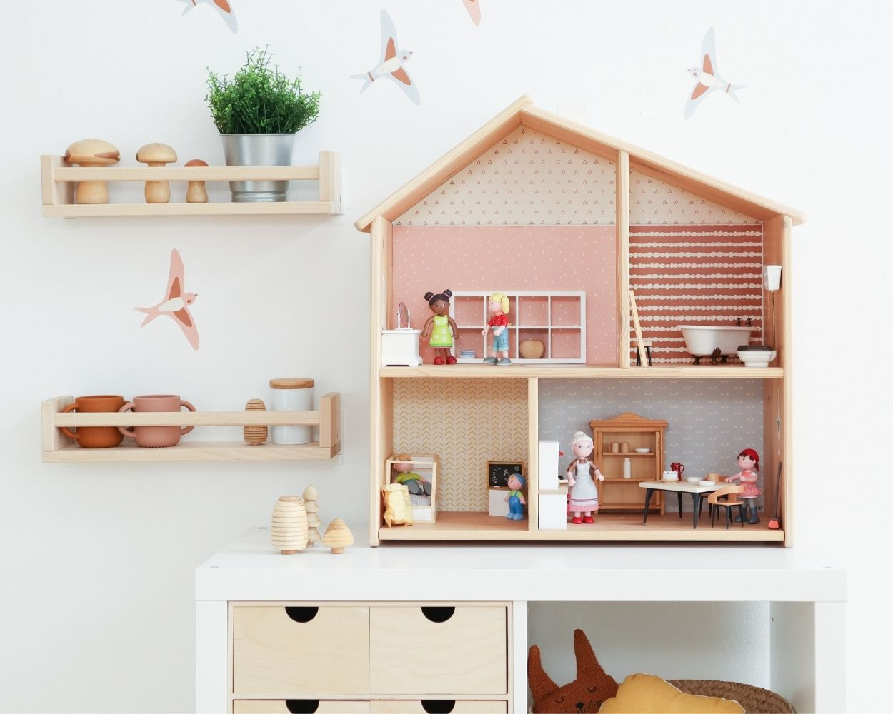 Ikea Puppenhaus Klebefolie