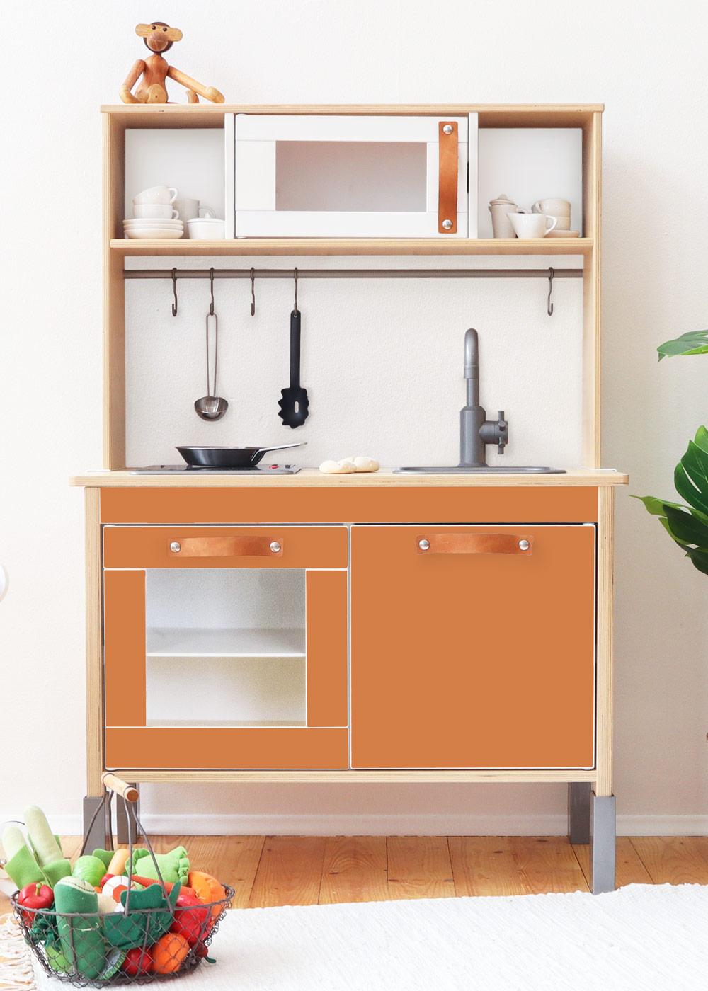 Ikea Duktig Kinderküche Frontli Kürbis Frontansicht