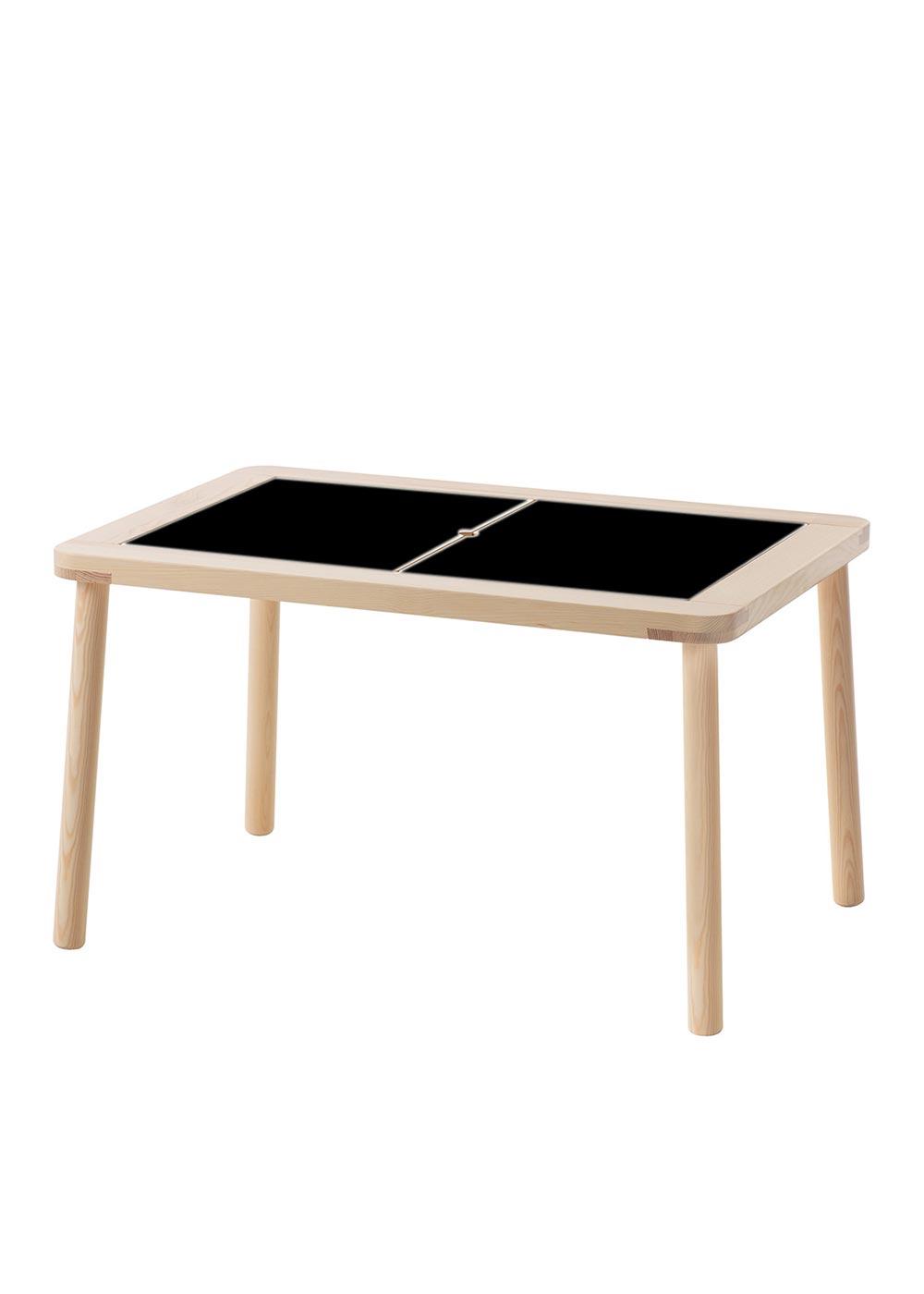 Ikea Flisat Spieltisch Ideenreich Tafelfolie  Gesamtansicht