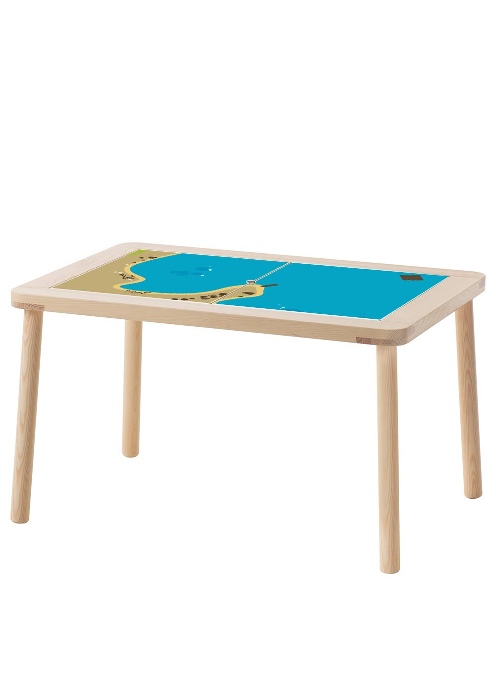 Ikea Flisat Kindertisch Wasserreich Komplettansicht
