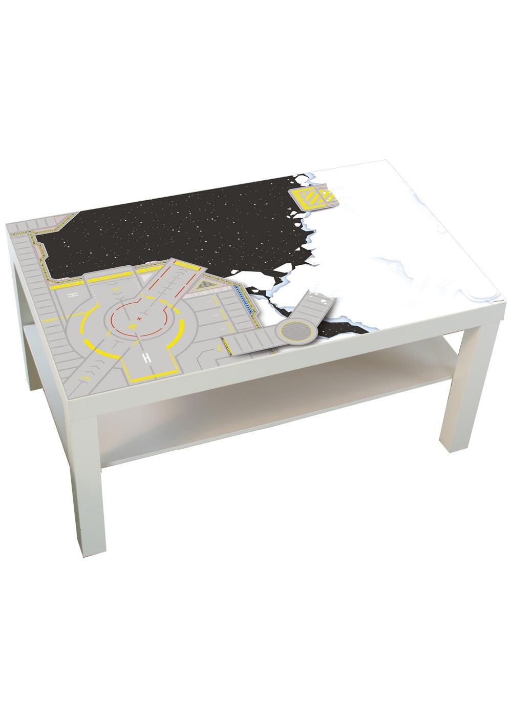 Ikea Lack Couchtisch Weltraum 78x118 Gesamtansicht