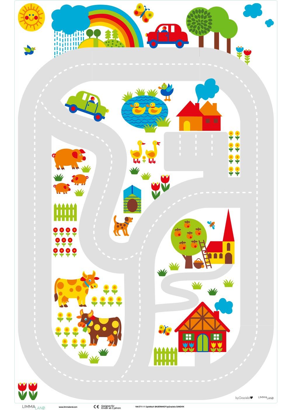 Ikea Sundvik Kindertisch By Graziela Bauernhof Druckvorlage
