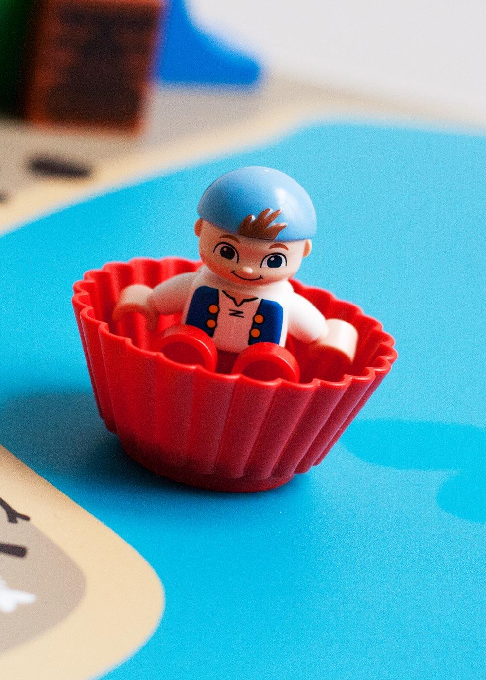 Ikea Lätt Kindertisch Wasserreich Teilansicht Boot